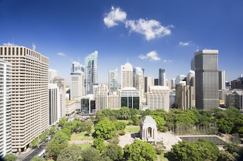 Aerial View at Pullman Sydney Hyde Park in Sydney