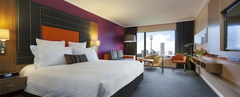 Guestroom at Pullman Sydney Hyde Park in Sydney