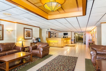 Lobby at Comfort Inn Washington Dulles International in Herndon