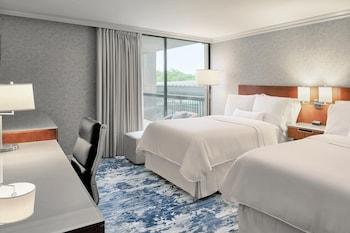 Superior Room, 2 Double Beds, Non Smoking, Garden View