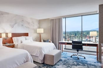Executive Room, 2 Double Beds, View, Tower (Executive)
