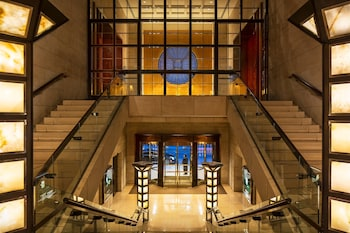 Lobby at Four Seasons Hotel New York in New York