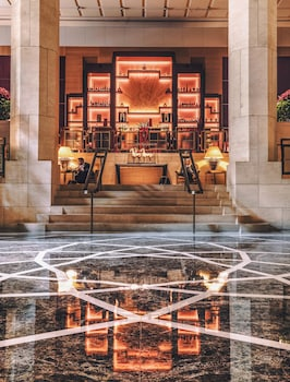 Lobby Lounge at Four Seasons Hotel New York in New York