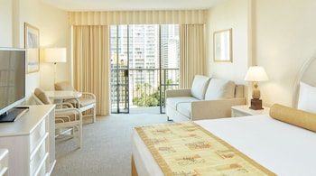 Room, 1 King Bed, Accessible, View (Waikiki View)