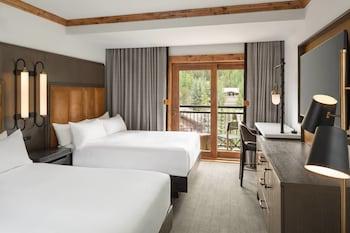 Oda, 2 Çift Kişilik Yatak, Balkon, Dağ Manzaralı