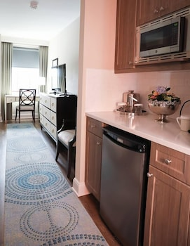 Premier Double Room, 2 Double Beds, Accessible, Refrigerator & Microwave