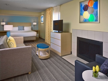 Studio Suite, 1 King Bed, Fireplace
