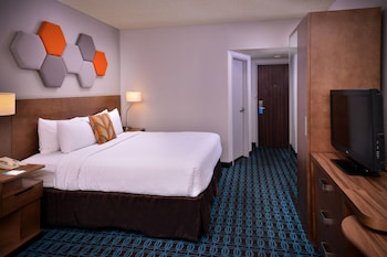Guestroom at Fairfield Inn Las Vegas Convention Center in Las Vegas