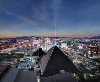 Book Luxor Hotel and Casino in Las Vegas.