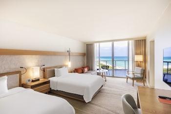 Junior Suite, 2 Queen Beds, Ocean View