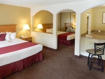Guestroom at Mardi Gras Hotel & Casino in Las Vegas