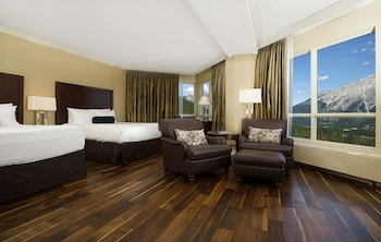 Grandview 1 Bedroom Suite With Panoramic Valley Views,  2 Queen Beds, Sofa Bed And Balcony