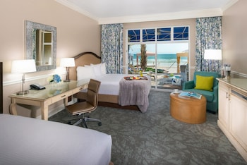 Double Room, Oceanfront (Cabana)