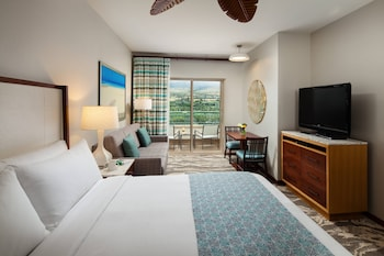 Room, 1 King Bed with Sofa bed, Balcony, View