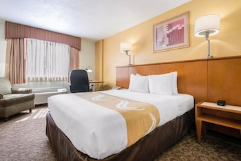 Guestroom at Quality Inn & Suites Near the Theme Parks in Orlando
