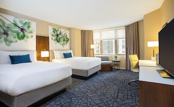 PURE Deluxe Room, 2 Double Beds, Lake or Park View, Certified Allergy Friendly