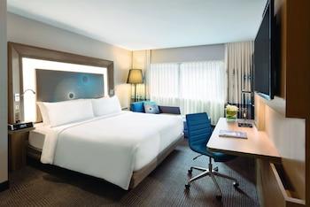 Oda, 1 En Büyük (king) Boy Yatak, Şehir Manzaralı (social)