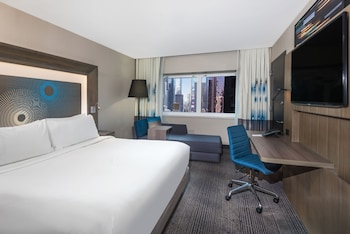 Guestroom at Novotel New York Times Square in New York