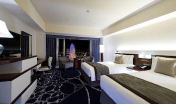 デラックス ツインルーム 禁煙 シティビュー|ヨコハマ グランド インターコンチネンタル ホテル