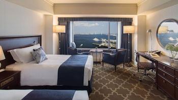 デラックス ルーム シングルベッド 1 台 禁煙 ベイビュー (Grand)|ヨコハマ グランド インターコンチネンタル ホテル