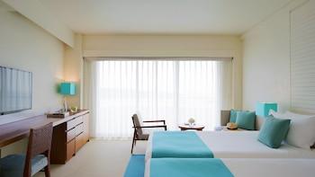 ルーム シングルベッド 2 台 禁煙 パーシャル オーシャン ビュー ANA インターコンチネンタル万座ビーチリゾート
