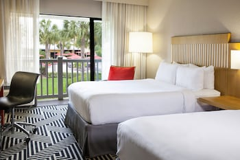 Premium Room, 2 Double Beds, View