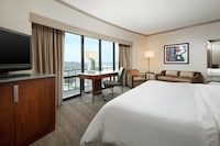 Premium Room, 1 King Bed with Sofa bed, City View