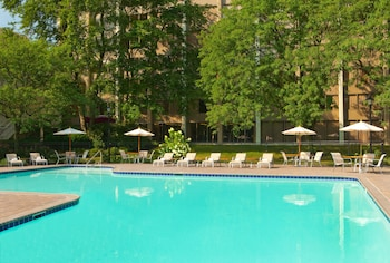 Outdoor Pool at The Hotel ML in Mount Laurel