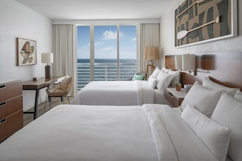 Premium Room, 2 Double Beds, Non Smoking, Ocean View