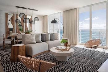 Presidential Suite, 1 King Bed, Ocean View, Corner