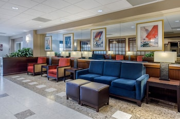 Lobby at Comfort Inn Conference Center in Bowie