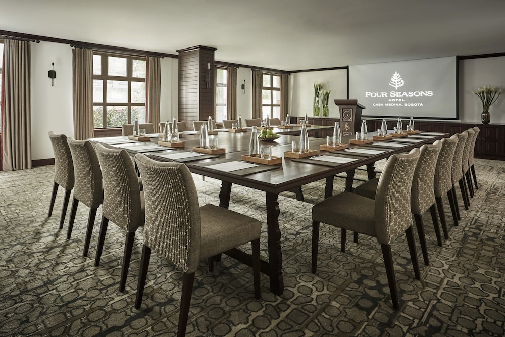 포 시즌스 호텔 보고타 카사 메디나(Four Seasons Hotel Bogotá Casa Medina) Hotel Image 42 - Meeting Facility