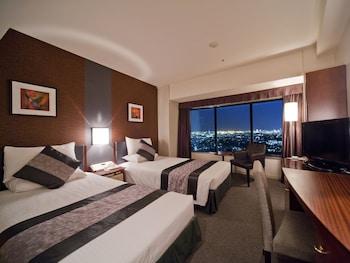 ツインルーム シングルベッド2台 禁煙 22-31階|17㎡|新横浜プリンスホテル