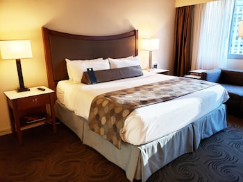 Deluxe Room, 1 King Bed, Accessible, City View (Mobility, Roll-In Shower)