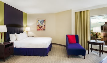 One King Bed Corner City-View Room