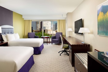Deluxe Room, 2 Queen Beds, City View
