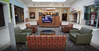 Lobby Sitting Area at Florida Hotel & Conference Center in the Florida Mall, BW Premier Coll in Orlando