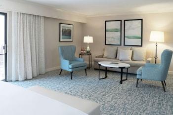 Junior Suite, 1 King Bed, Accessible, Bathtub