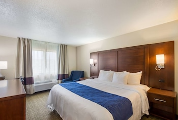 Standard Room, 1 Queen Bed, Accessible, Non Smoking (Accessible Tub)