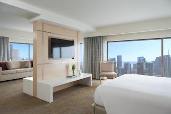 Suite, 1 Bedroom, City View (High Floor)