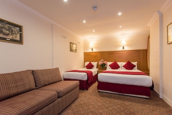 Quadruple Room, 1 Double Bed with Sofa bed (lower ground floor)