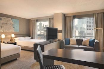 Executive Suite, 2 Double Beds, Non Smoking (Alcove)