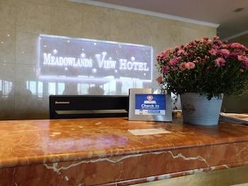 Concierge Desk at Meadowlands View Hotel in North Bergen