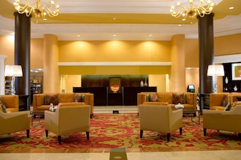 Lobby at Falls Church Marriott Fairview Park in Falls Church