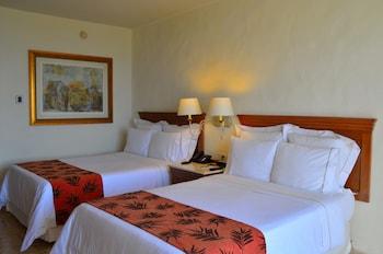 Superior Room, 2 Double Beds, Non Smoking, Partial Ocean View