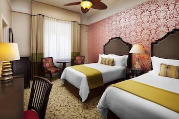 Room, 2 Double Beds, Ocean View (Historic)