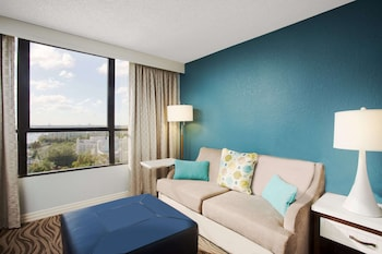 Room, 1 King Bed with Sofa bed, Non Smoking, Resort View (Disney View)