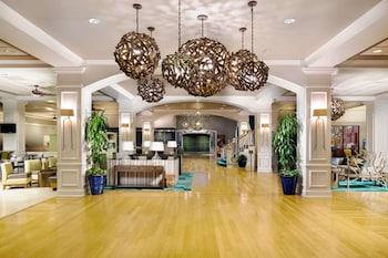 Lobby at Wyndham Lake Buena Vista Disney Springs® Resort Area in Lake Buena Vista