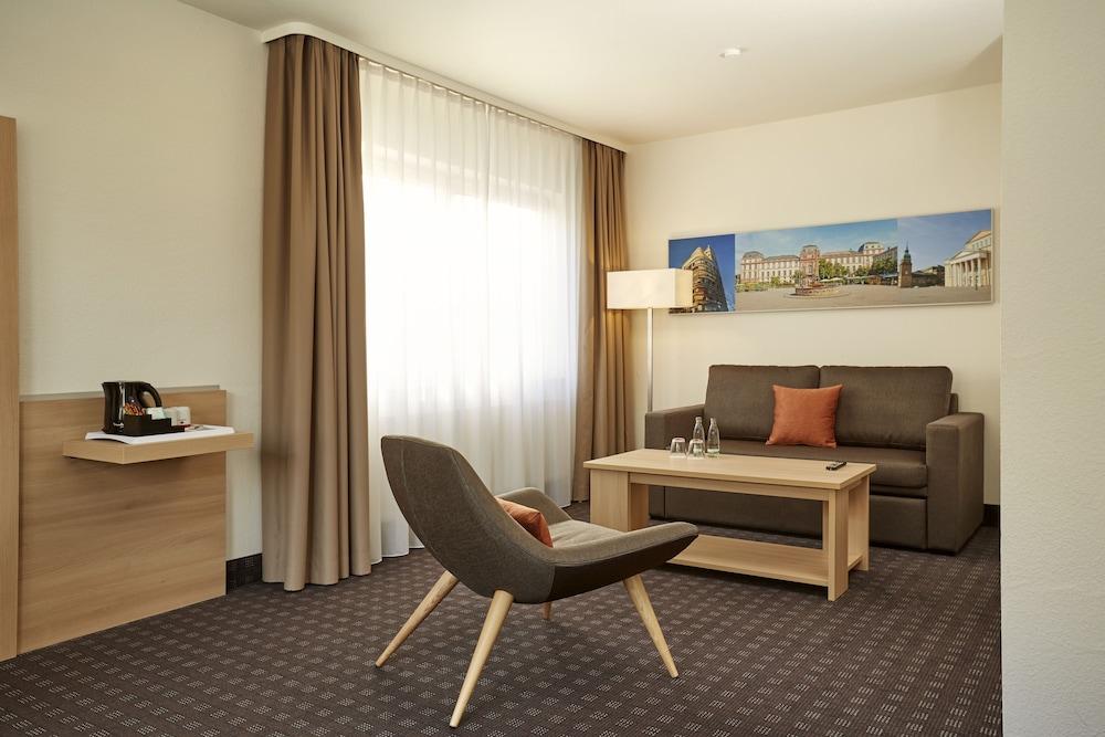 H+ 호텔 다름슈타트(H+ Hotel Darmstadt) Hotel Image 5 - Guestroom