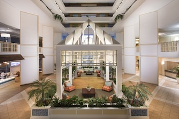 Lobby at Hilton Myrtle Beach Resort in Myrtle Beach